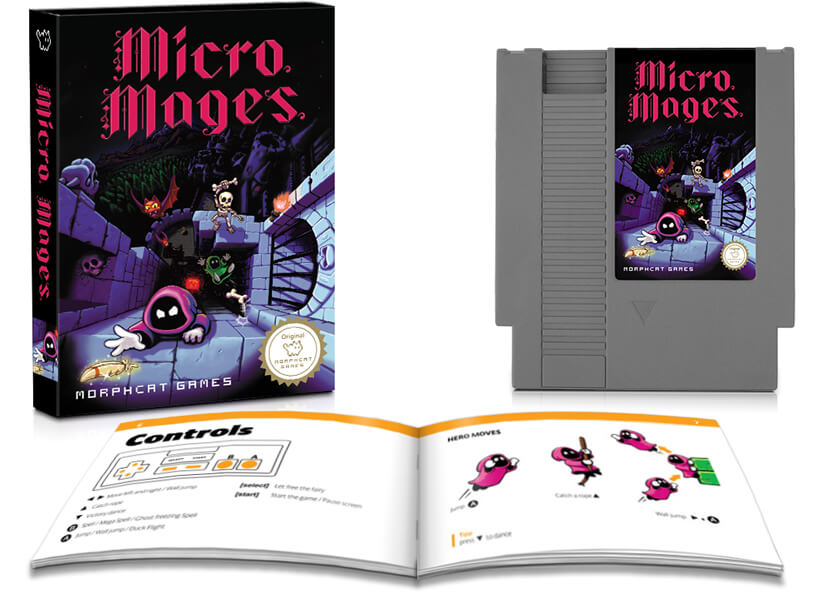Micro Mages complete in box